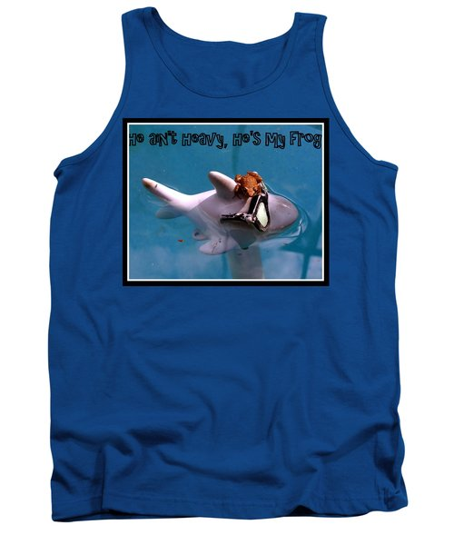 Whimsical Shark Tank Top by Irma BACKELANT GALLERIES