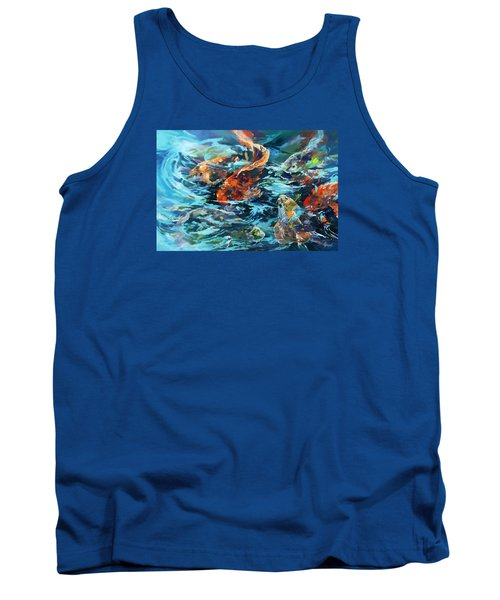 Whirling Dervish Tank Top by Rae Andrews