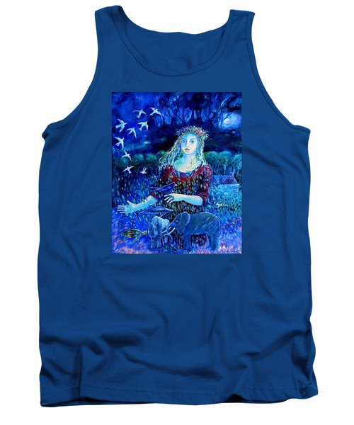 Whispers From The Future  Tank Top by Trudi Doyle