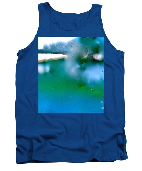 Tank Top featuring the digital art White Ice by Patricia Schneider Mitchell