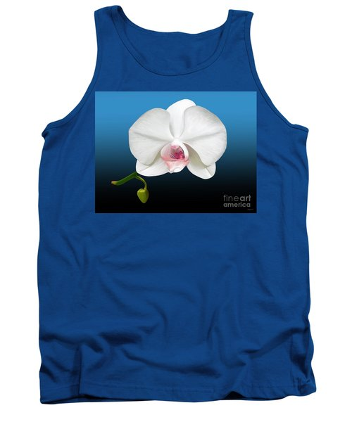 White Orchid Tank Top by Rand Herron