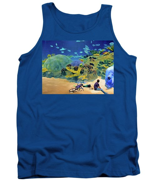 Who's Fishing? Tank Top