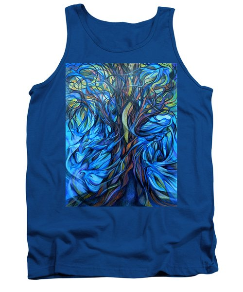 Wind From The Past Tank Top