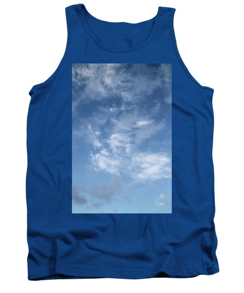 Tank Top featuring the photograph Window On The Sky In Israel During The Winter by Yoel Koskas