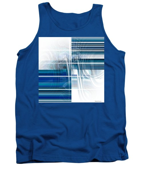 Window To Whirlpool Tank Top by Thibault Toussaint