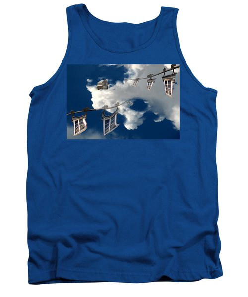 Windows And The Sky Tank Top