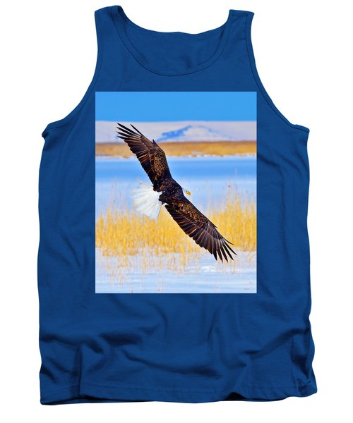 Tank Top featuring the photograph Wingspan by Greg Norrell