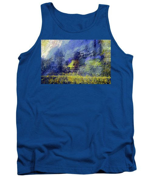 Winter Frosty Morning Tank Top