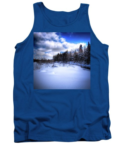 Tank Top featuring the photograph Winter Highlights by David Patterson