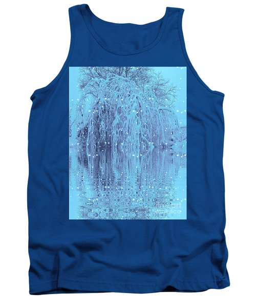 Tank Top featuring the photograph Winter Is Pretty by Holly Martinson