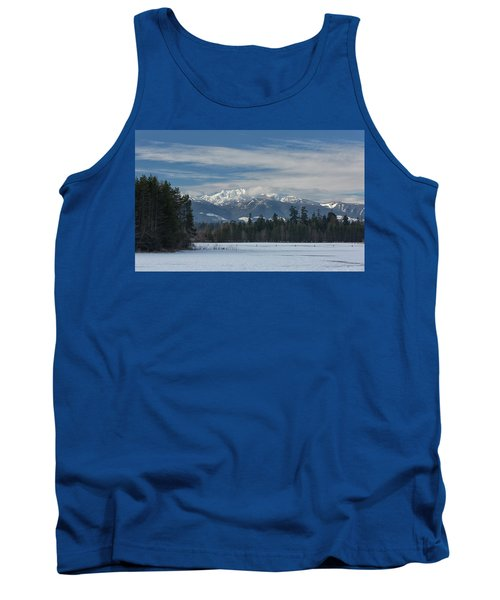 Tank Top featuring the photograph Winter by Randy Hall