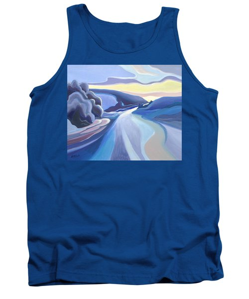 Winter Road Tank Top