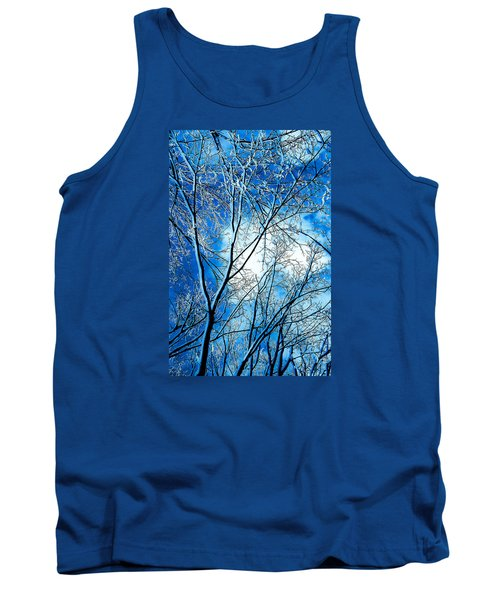 Winter Solstice Tank Top by Michael Nowotny