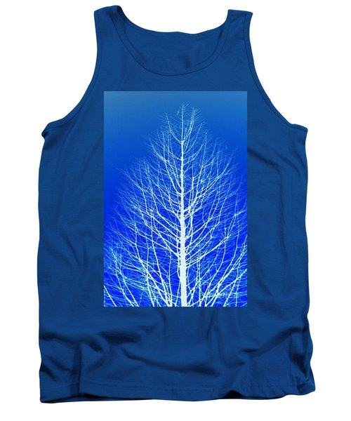 Winter Tree Tank Top by Donna Bentley