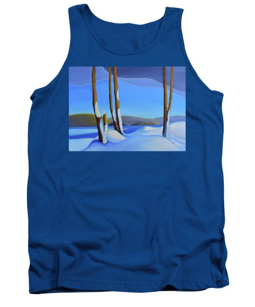 Winter's Calm Tank Top