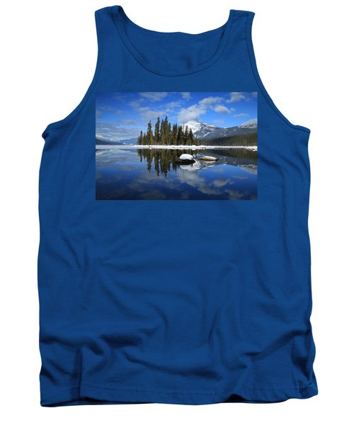 Winters Mirror Tank Top by Lynn Hopwood