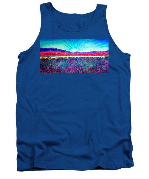 Wishing You The Sunshine Of Tomorrow Tank Top by Kimberlee Baxter