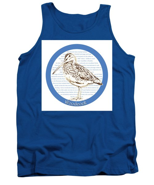 Woodcock Tank Top by Greg Joens