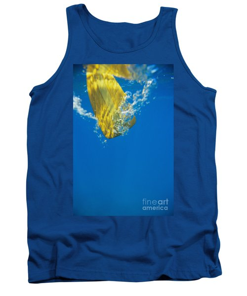 Wooden Paddle Underwater Tank Top