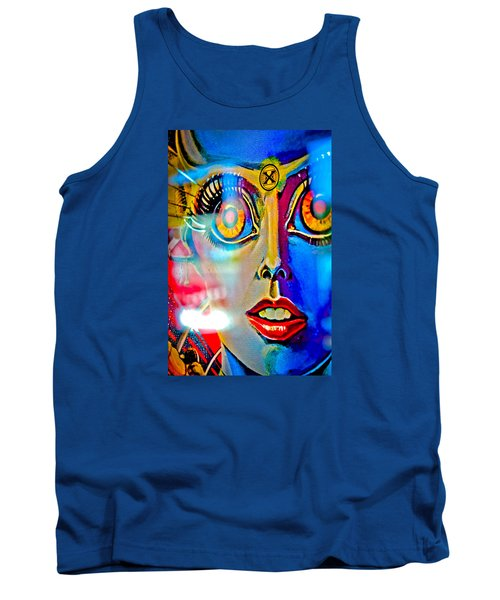 X Is For Xenon - Pinball Tank Top