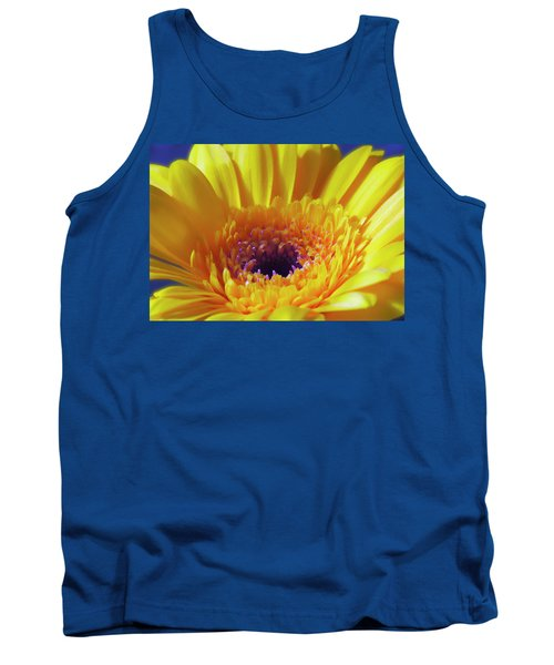 Yellow Joy And Inspiration Tank Top