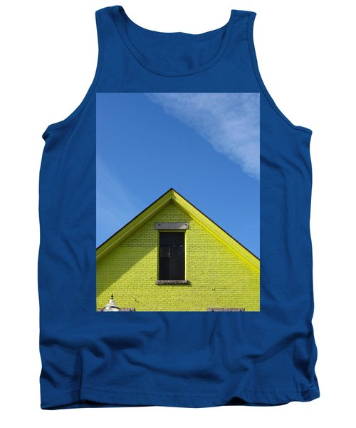 Yellow Peak Tank Top