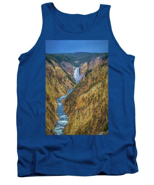 Yellowstone Falls Tank Top