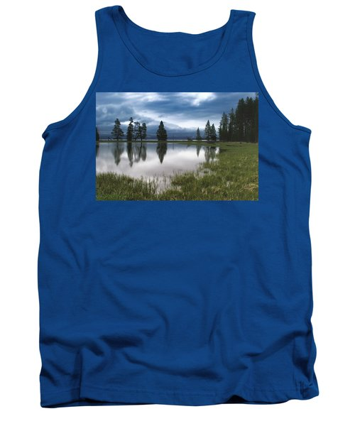 Yellowstone Lake Reflection Tank Top
