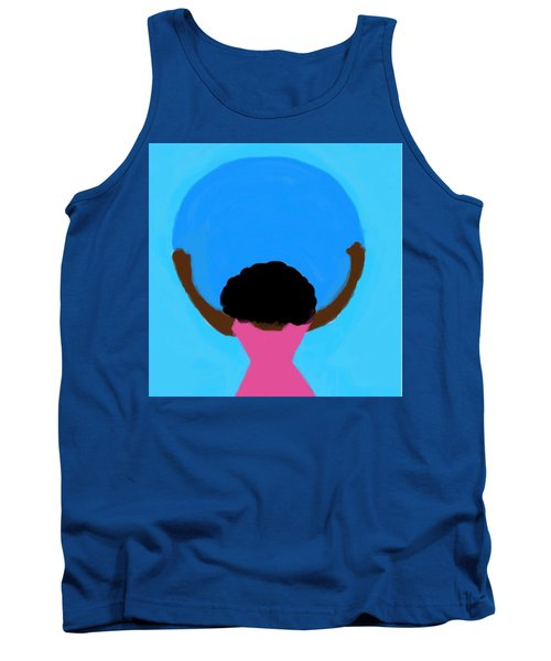 You Can Carry The Moon 103 Tank Top