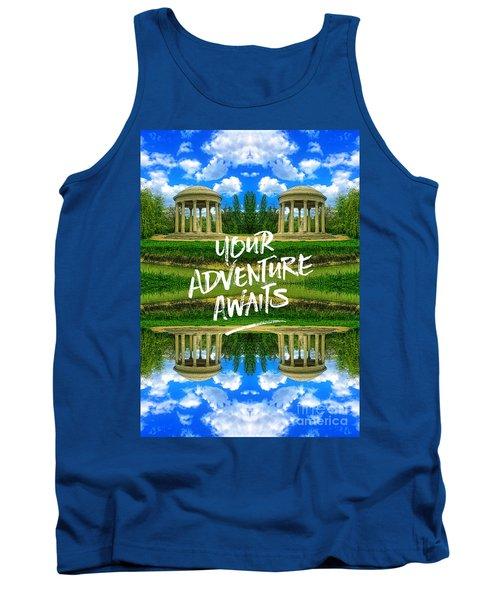 Your Adventure Awaits Temple Of Love Versailles Paris Tank Top