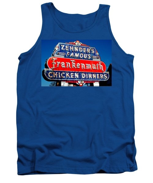 Zehnder's Frankenmuth Michigan Tank Top