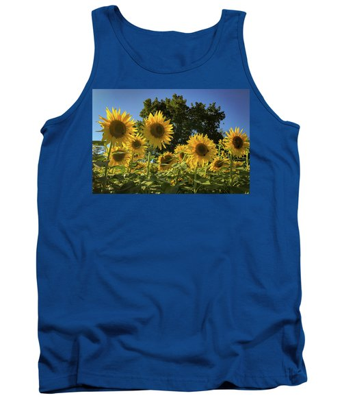 Sunlit Sunflowers Tank Top
