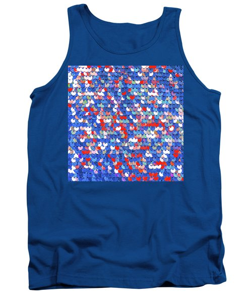 Funky Sequins Tank Top