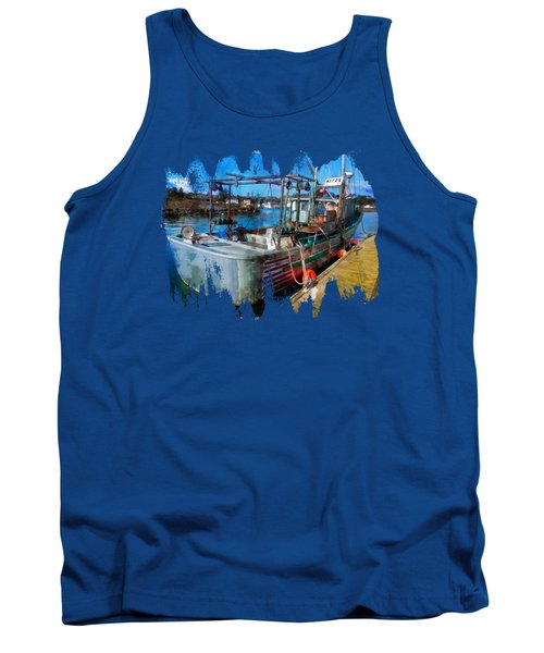 A Real Fishing Boat Tank Top