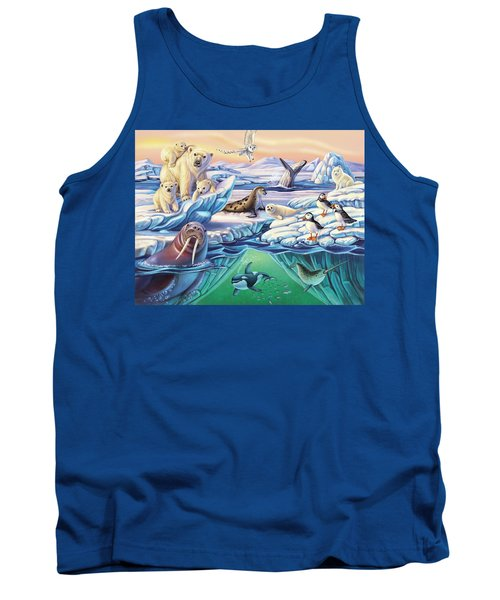 Arctic Animals Tank Top
