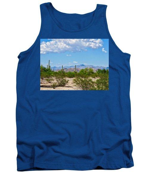 Arizona Desert Hidden Valley Tank Top