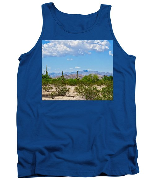 Arizona Desert Hidden Valley Tank Top