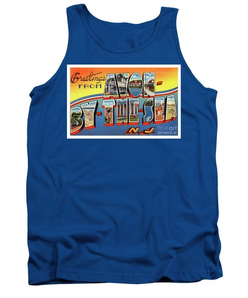 Avon-by-the-sea Greetings Tank Top