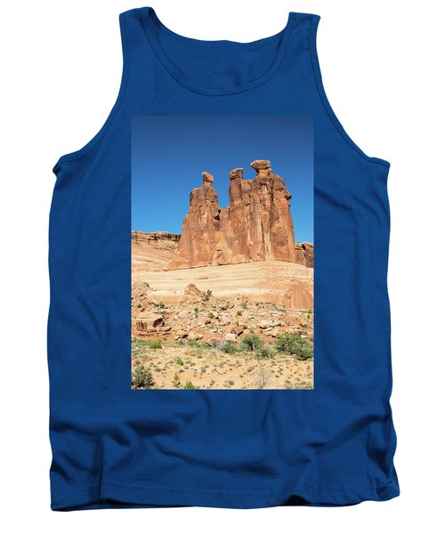 Balanced Rocks In Arches Tank Top