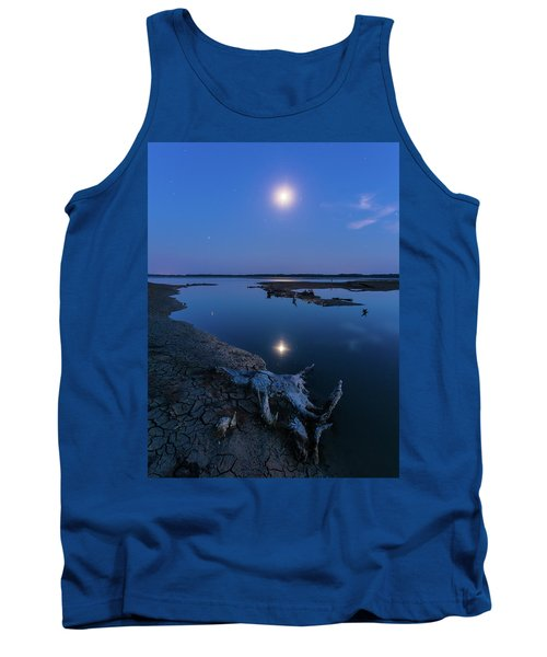 Blue Moonlight Tank Top