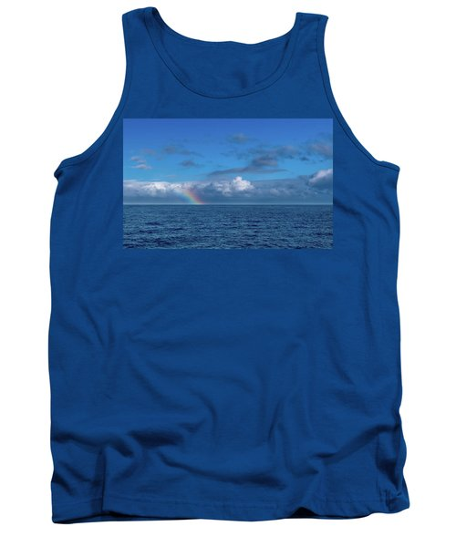 Blue Rainbow Horizon Tank Top