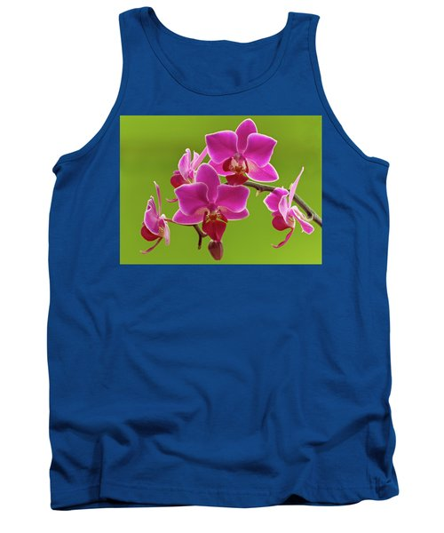 Brilliant Pink Orchid Tank Top