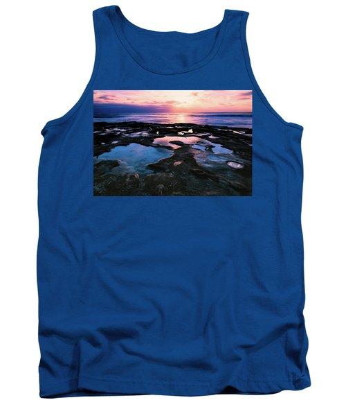 Tank Top featuring the photograph Candy Colored Pools by Jason Roberts