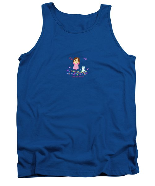 Cathy And The Cat Spring Is Coming Tank Top