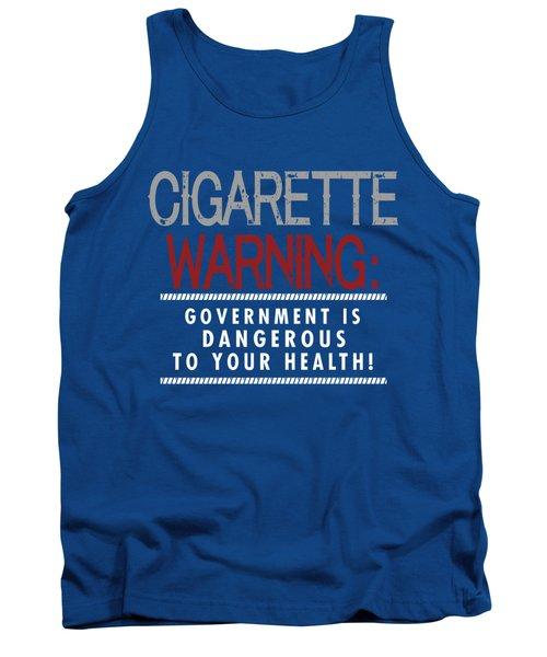 Cigarette Warning Tank Top