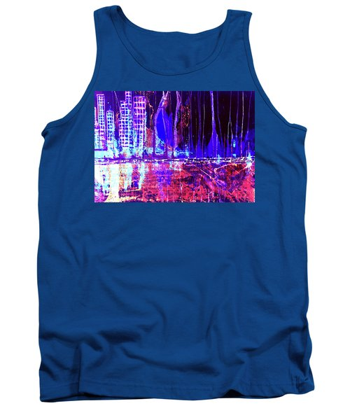 City By The Sea Right Tank Top