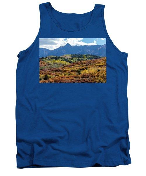 Tank Top featuring the photograph Colorado Color Bonanza by James BO Insogna