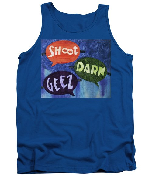 Colorful Language Tank Top