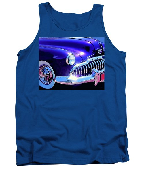 Custom 1949 Purple Buick Tank Top