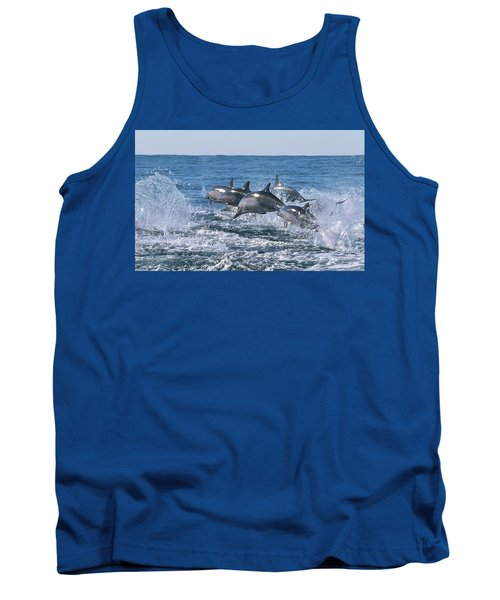 Dancing Dolphins Tank Top